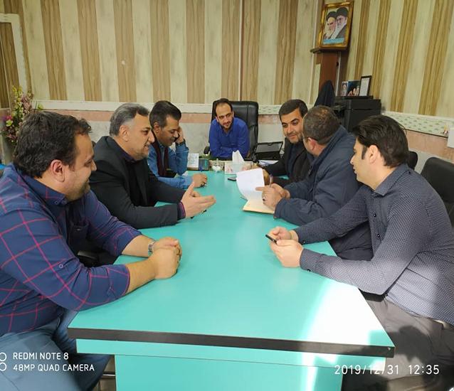 برگزاری اولین جلسه ستاد هماهنگی دهه فجر شهرداری شاهدشهر