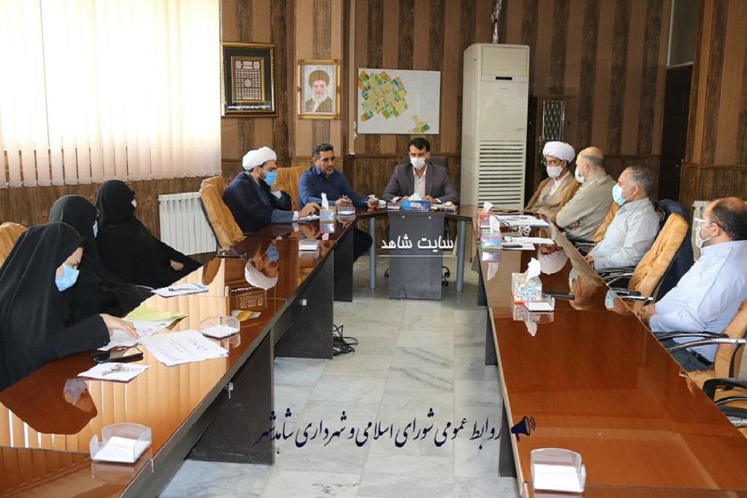 نشست کمیسیون فرهنگی شهرداری در دفتر شهردار برگزار شد