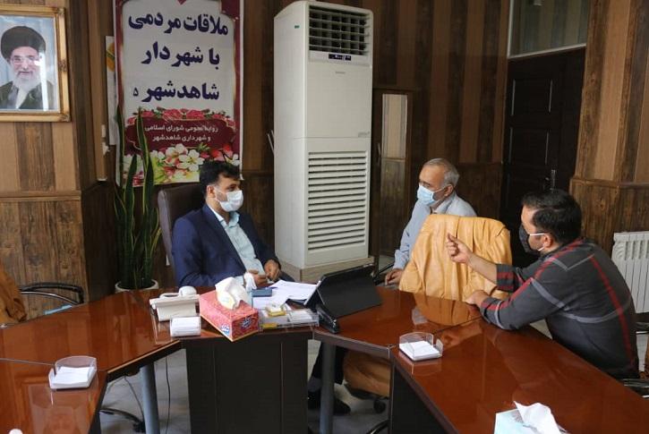 پنجمین ملاقات هفتگی شهرداری شاهدشهر با شهروندان