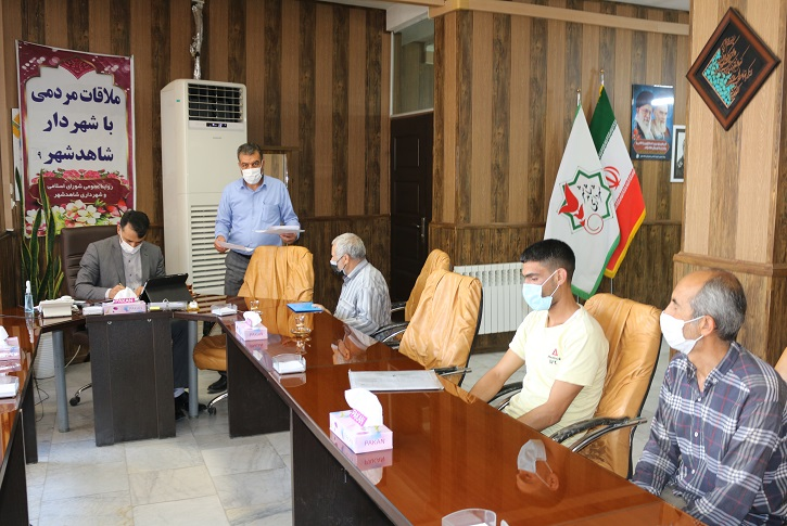 استمرار ملاقات مردمی شهردار با شهروندان شاهدشهر