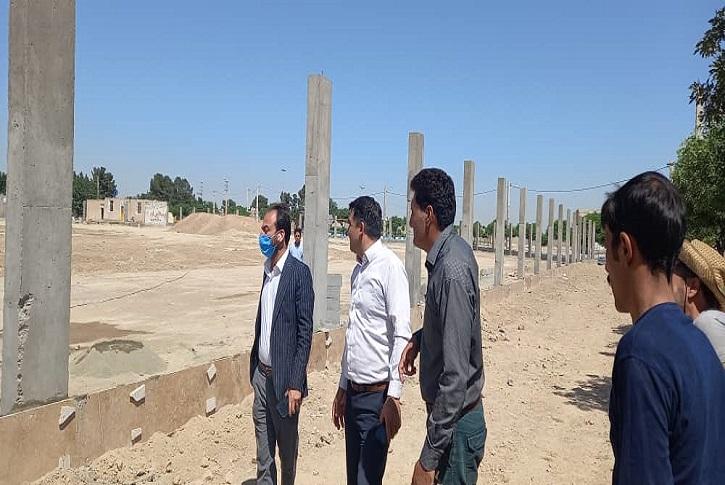آغاز احداث استادیوم ورزشی دو هزار نفری در شاهدشهر