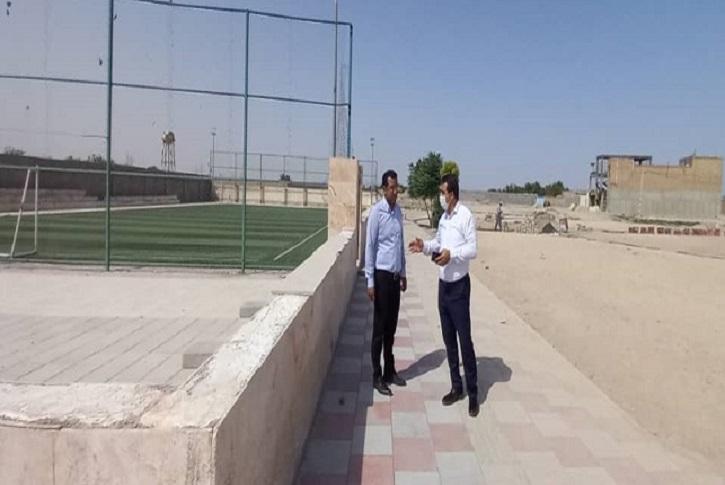 بازدید میدانی رئیس شورای اسلامی از روند پروژه های در دست اجرا