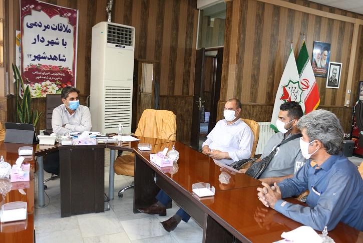 ارتباط مستقیم شهروندان با مهندس خانی شهردار شاهدشهر