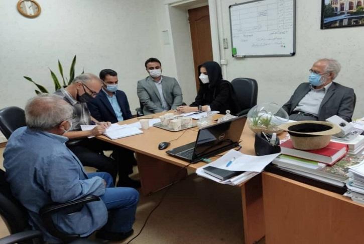 جلسه بررسی و بازبینی طرح جامع و تفصیلی شهرداری شاهدشهر