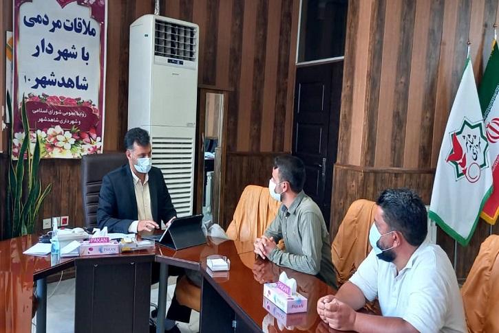 دهمین جلسه ملاقات هفتگی شهردار با مردم شاهدشهر