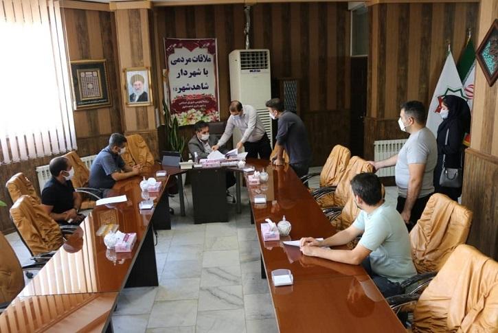 استمرار ملاقات عمومی شهردار با شهروندان شاهدشهر