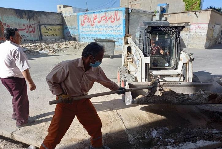اجرای طرح خدمات رسانی و پاکسازی محله به محله در شاهدشهر
