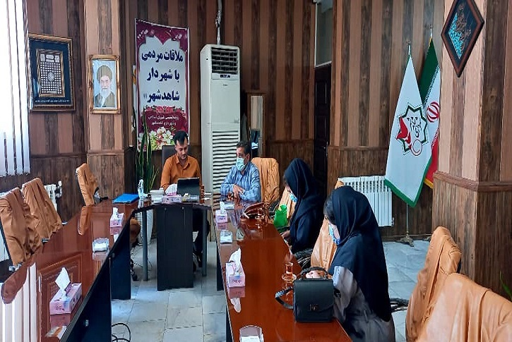تعامل شهرداری با شبکه بهداشت جهت راه اندازی مرکز واکسیناسیون کرونای شاهدشهر
