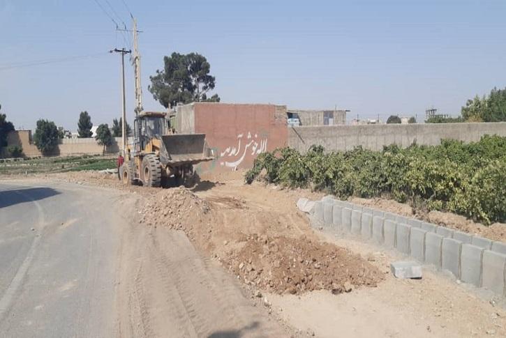 پروژه احداث بلوار جاده قدیم محمودآباد شهرک لاله