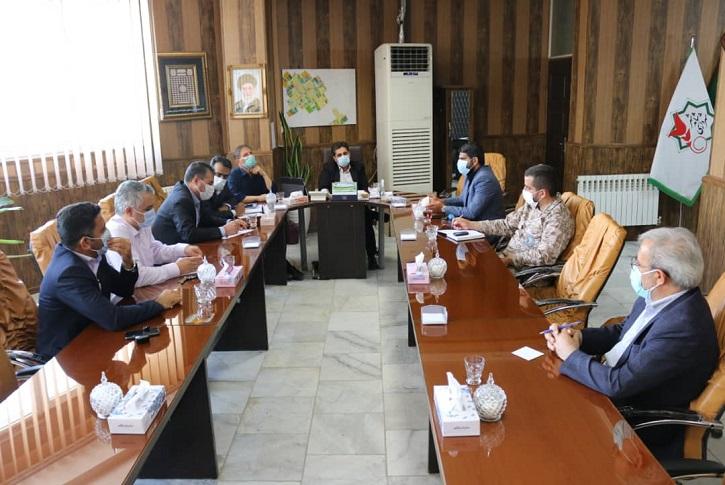 جلسه هماهنگی اجرای برنامه های گرامیداشت هفته دفاع مقدس