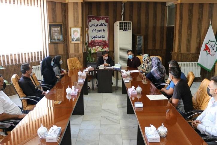 هفدهمین جلسه ملاقات هفتگی شهردار با شهروندان