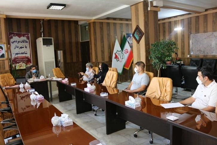 دیدار هفتگی مهندس خانی شهردار شاهدشهر با شهروندان