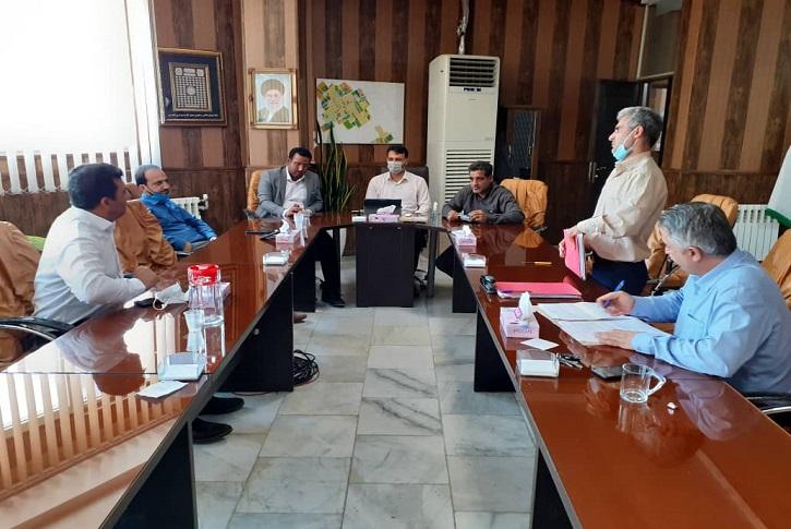 جلسه کمیسیون معاملات در شهرداری شاهدشهر برگزار شد