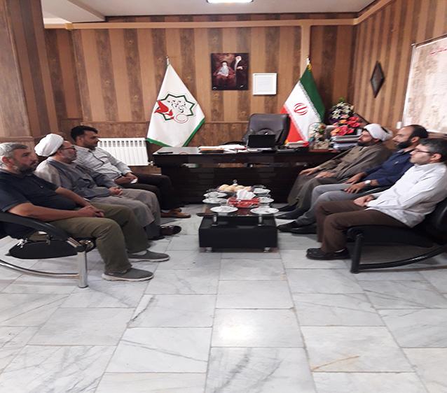 جلسه شهردار شاهدشهر با رئیس اداره تبلیغات اسلامی
