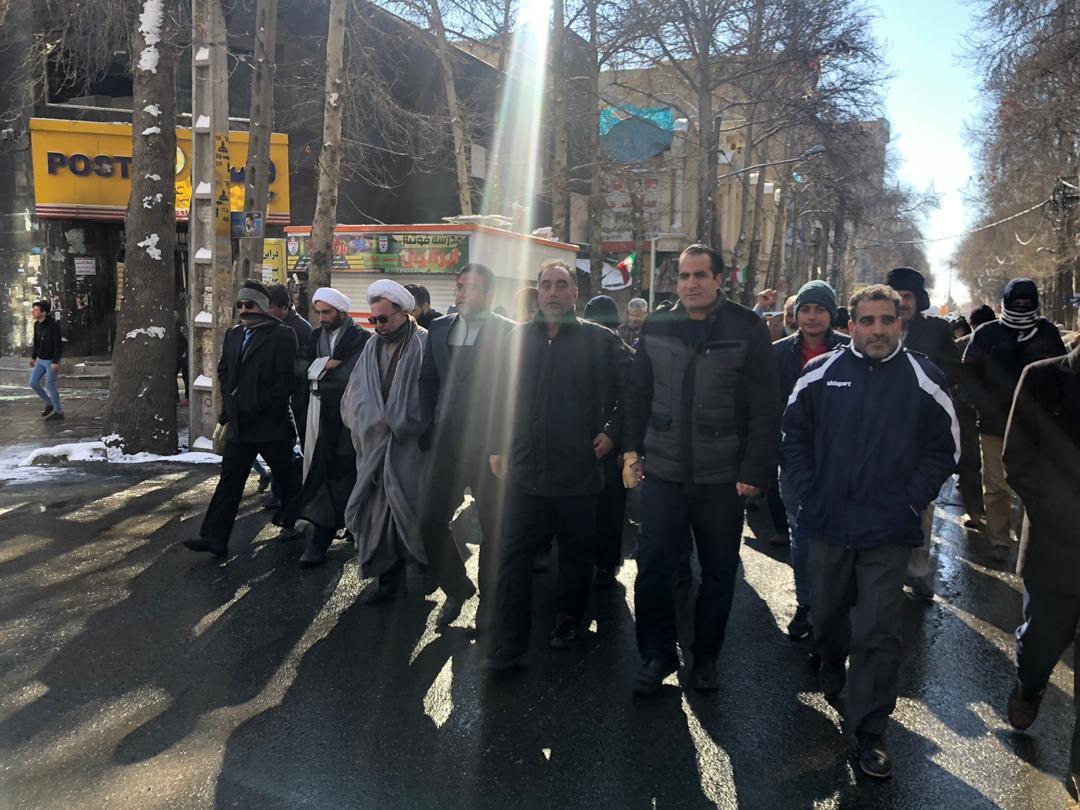 برگزاری مراسم راهپیمایی یوم الله ۲۲ بهمن