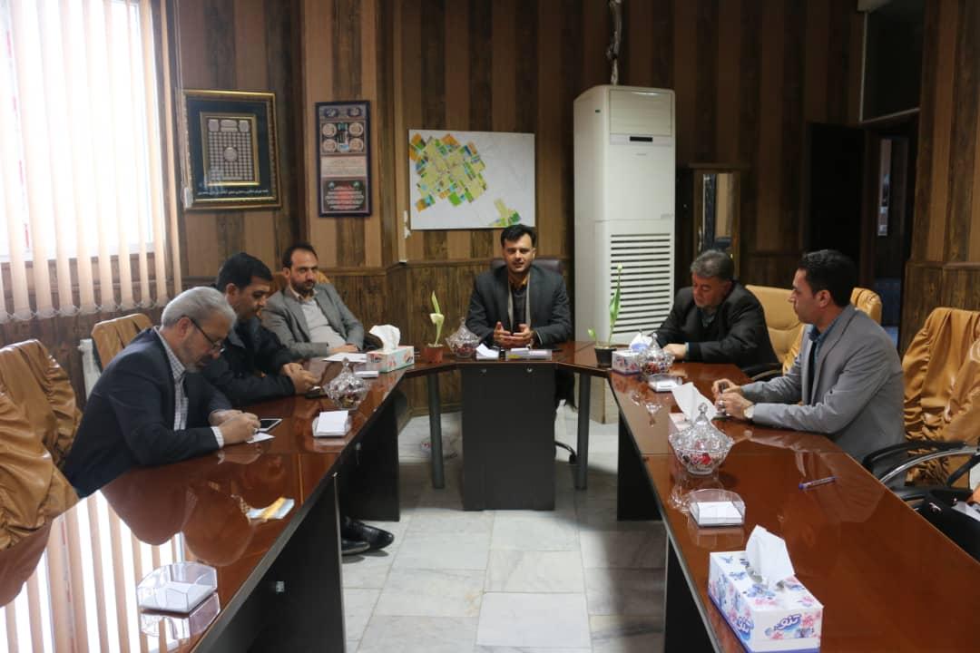 جلسه شورای معاونین شهرداری شاهدشهر