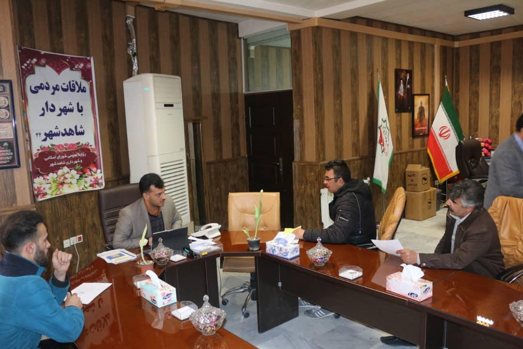 چهل و چهارمین ملاقات مردمی مهندس سلمانی شهردار شاهدشهر