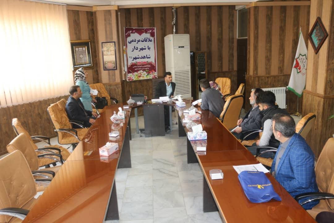 چهل و پنجمین ملاقات مردمی مهندس سلمانی شهردار شاهدشهر