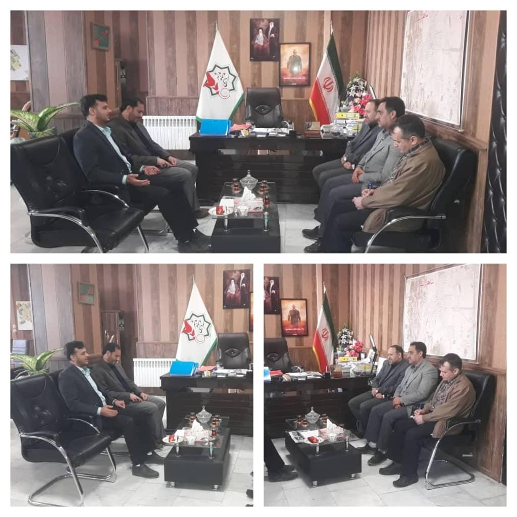 نشست معاون حقوقی کمیته امداد امام خمینی (ره) با شهردار شاهدشهر