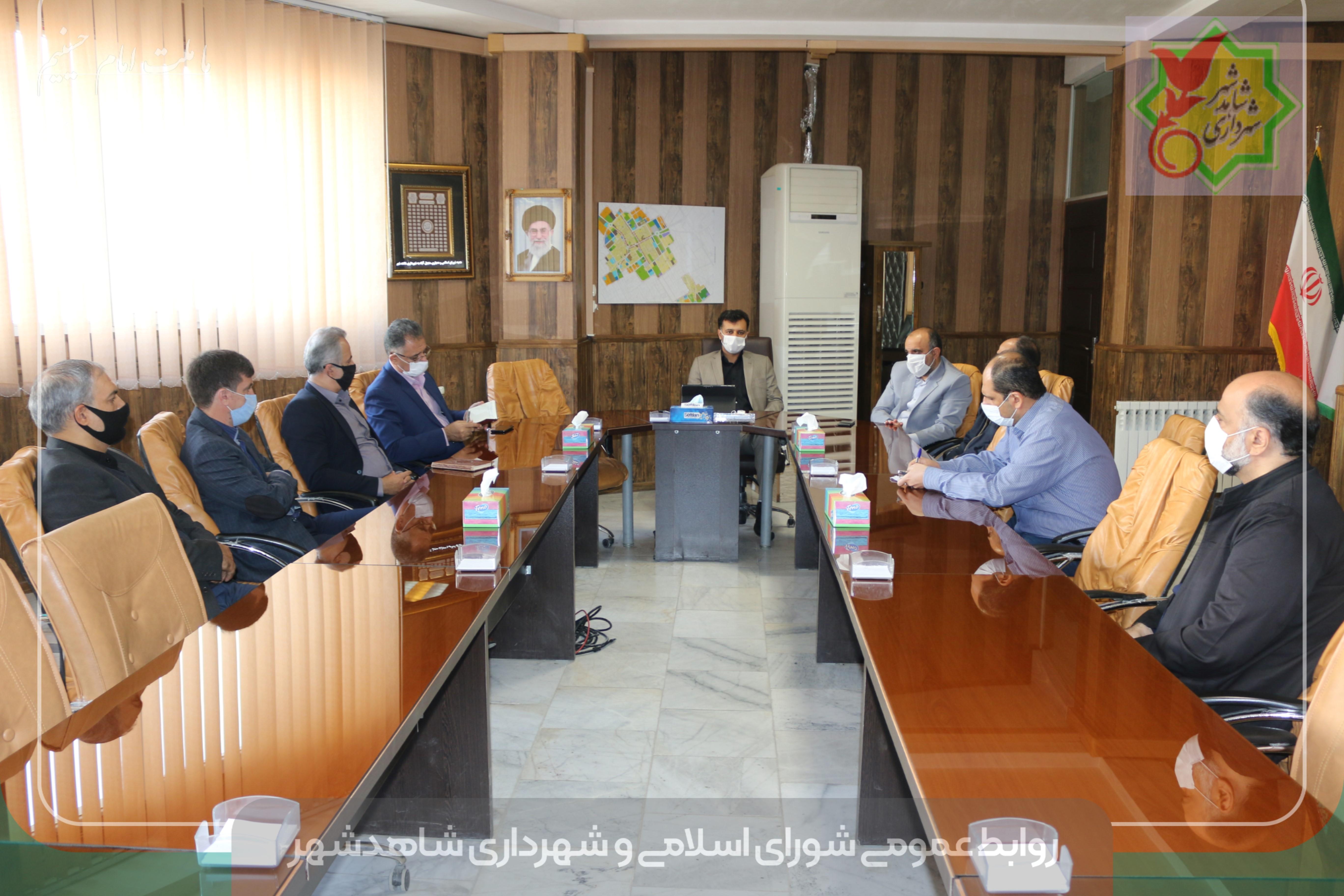 نشست تعامل و هم اندیشی شهردار با مدیران کمیته امداد امام خمینی رحمة الله علیه