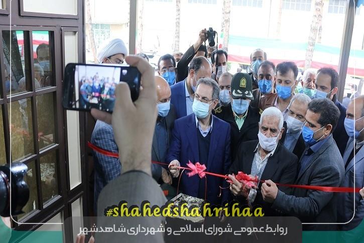 افتتاح استخر مجهز شهدای غواص شاهدشهر