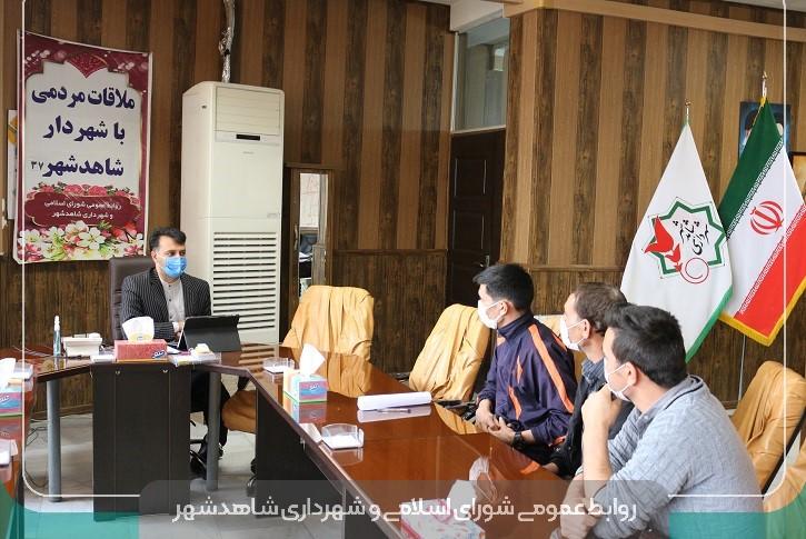 تداوم ارتباط مستقیم با شهروندان پرسشگر و شهردار پاسخگو
