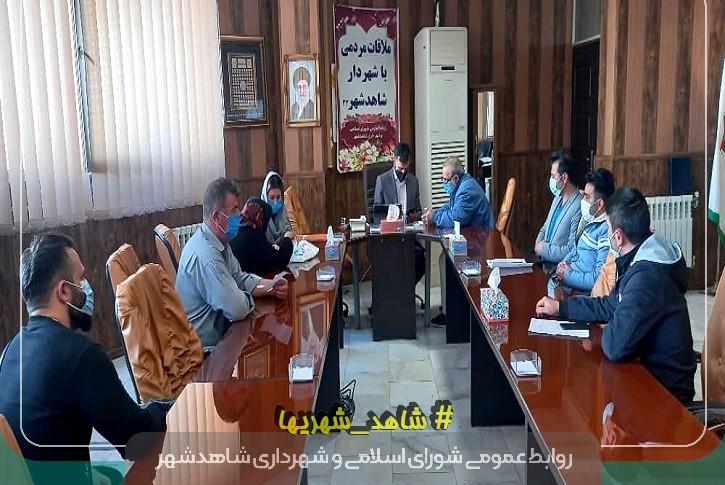 دیدار چهره به چهره شهردار سلمانی با مردم شاهدشهر
