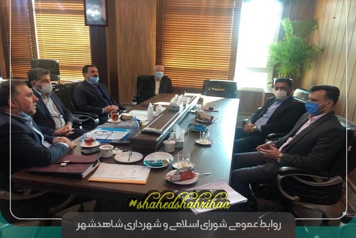 نشست مشترک شهردار با مدیرعامل اتحادیه سازمانهای حمل و نقل همگانی کشور