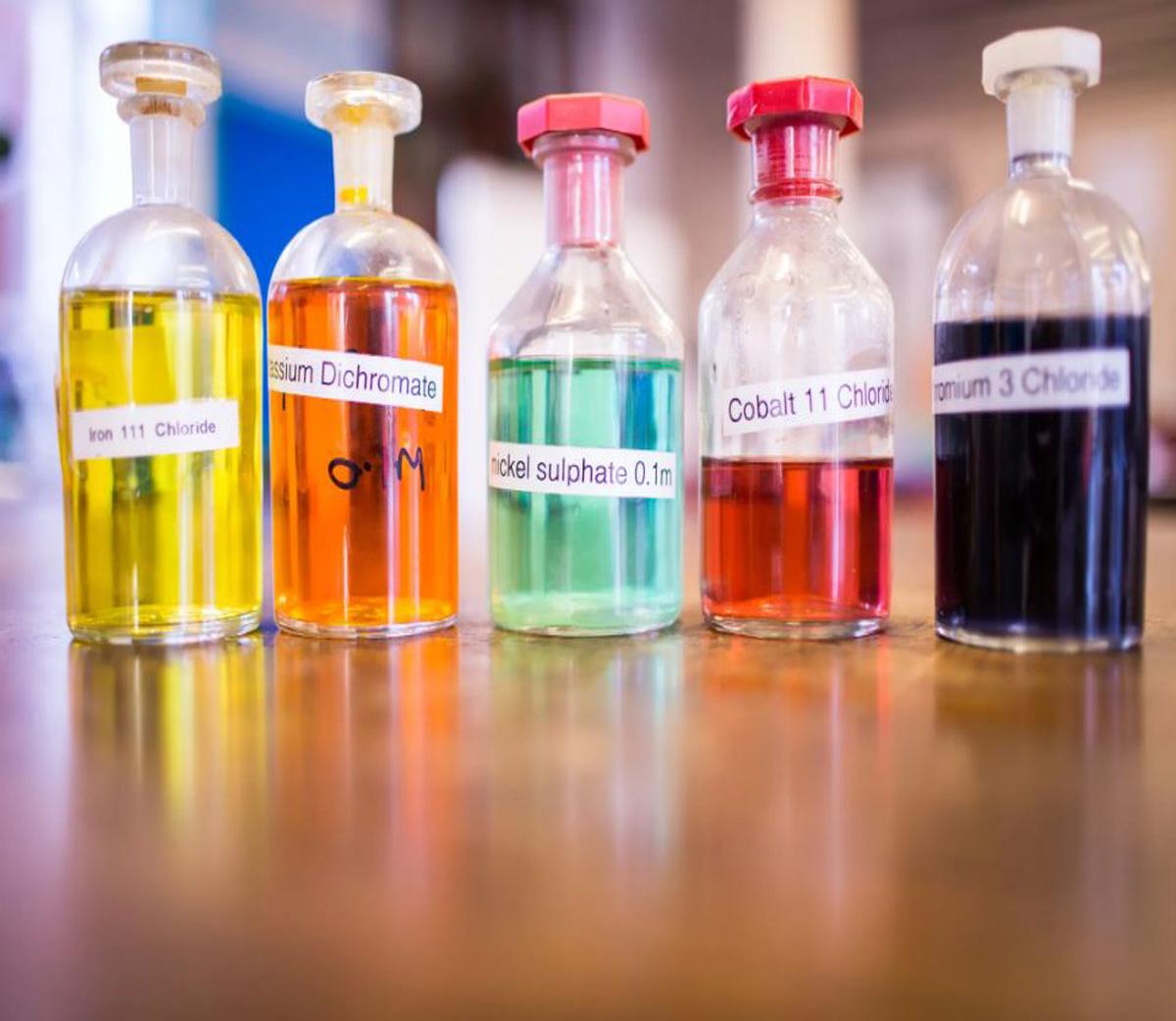 انواع نمکها و مواد شیمیایی پایه