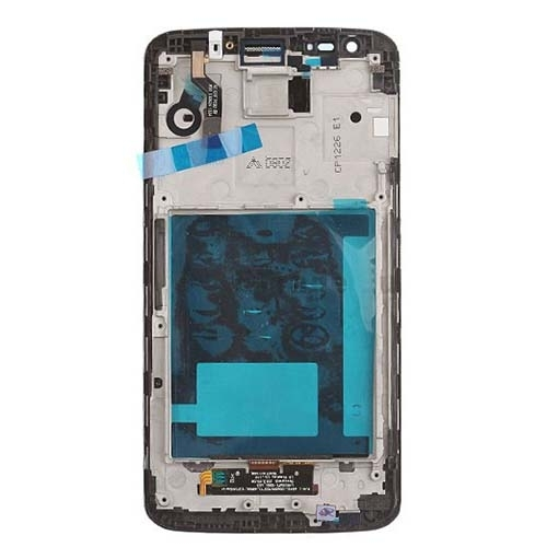 LG G2 D802 Display LCD Touch Digitizer Glass Lens Screen Complete Original With Frame