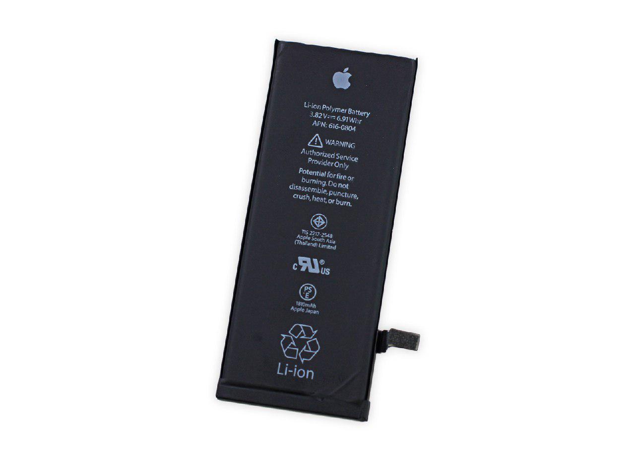 Apple iPhone 6 4.7 Inch Battery Li-Ion-Polymer 3.82V 1810 mAh 6.9 Wh Original Quality