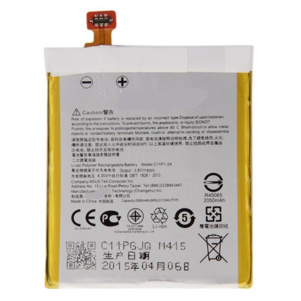 Asus Zenfone 5 A500cg A501CG A502CG AT00j T00f C11P1-24 2050mAh Rechargeable Li-Polymer Battery