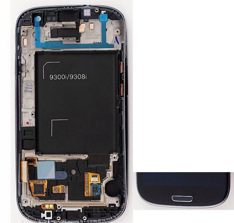 Samsung I9301I Galaxy S3 Neo GT-I9300I Middle Front Housing LCD Frame Bezel Motherboard Panel