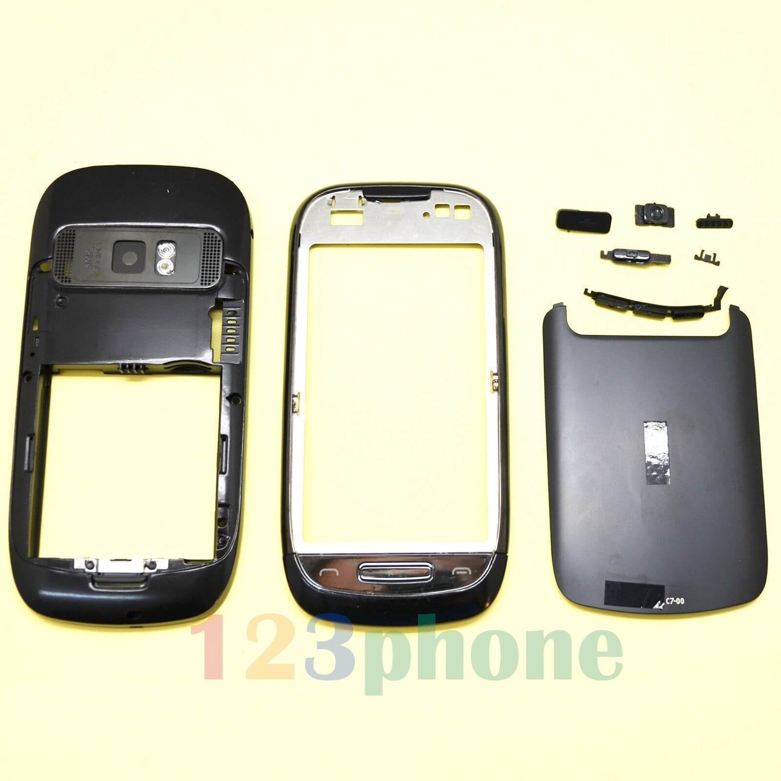 Nokia C7 Astound / RM-675 / RM-691 Full Original Cover Housing Faceplate Body Panel Complete Parts