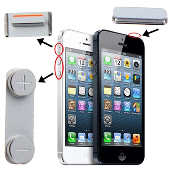 کلید-پاور-ولوم-سایلنت-گوشی-موبایل-فایو-apple-iphone-5-side-key-button-power-volume.jpg