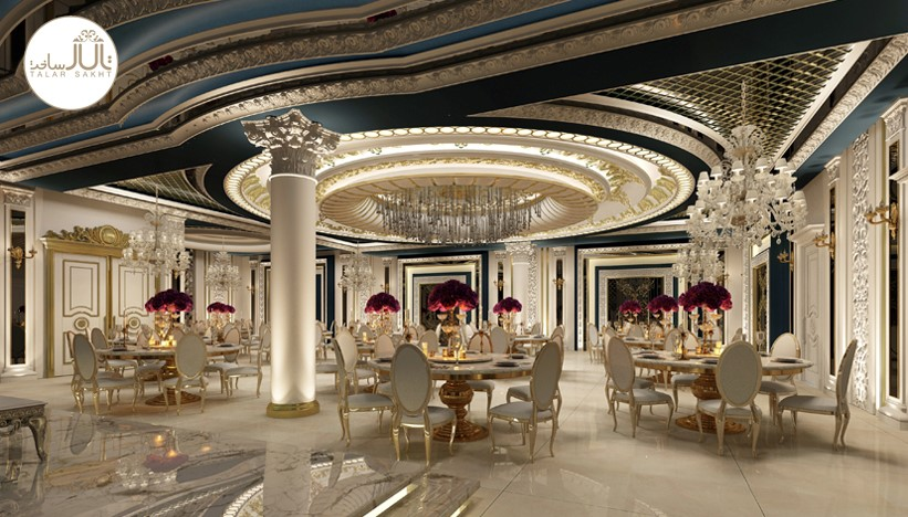 سبک کلاسیک در طراحی تالارتشریفاتی