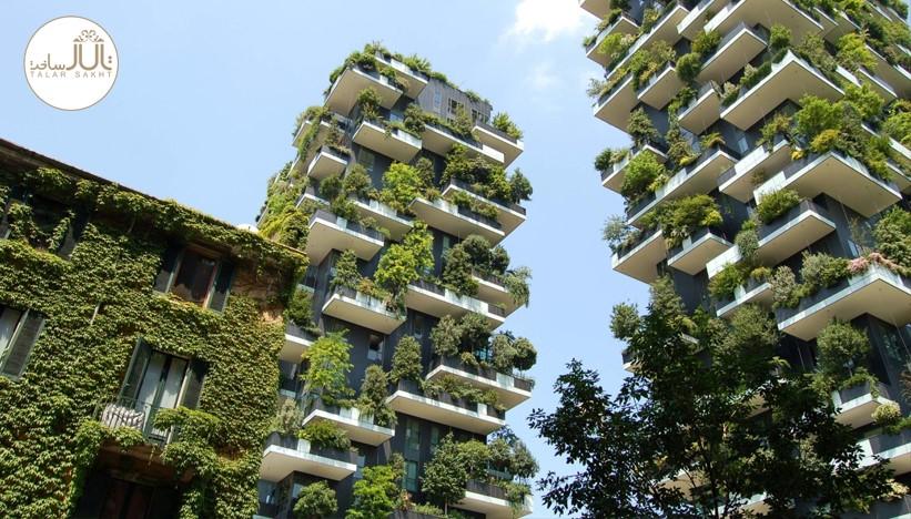 طراحی برج باغ های مسکونی