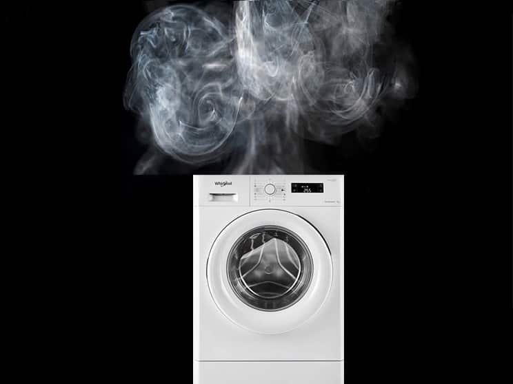علت بوی سوختگی در ماشین لباسشویی