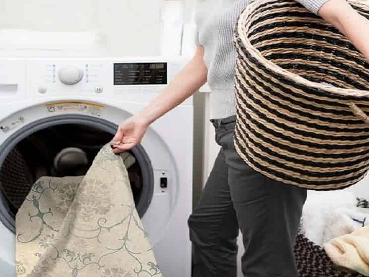 شست و شوی فرش با ماشین لباسشویی