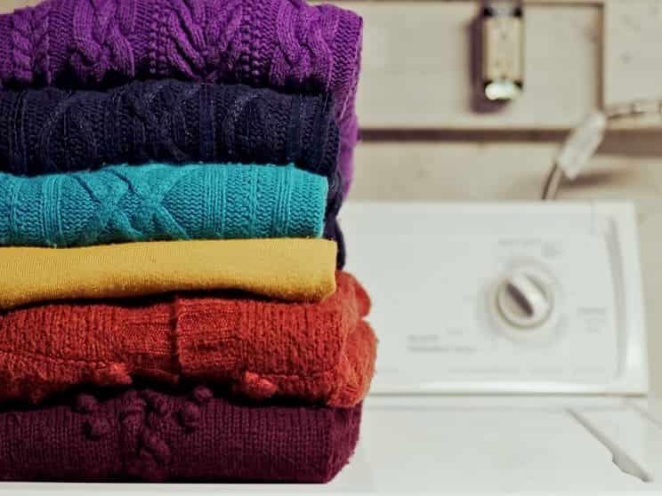 نخکش شدن لباسها هنگام شست و شو