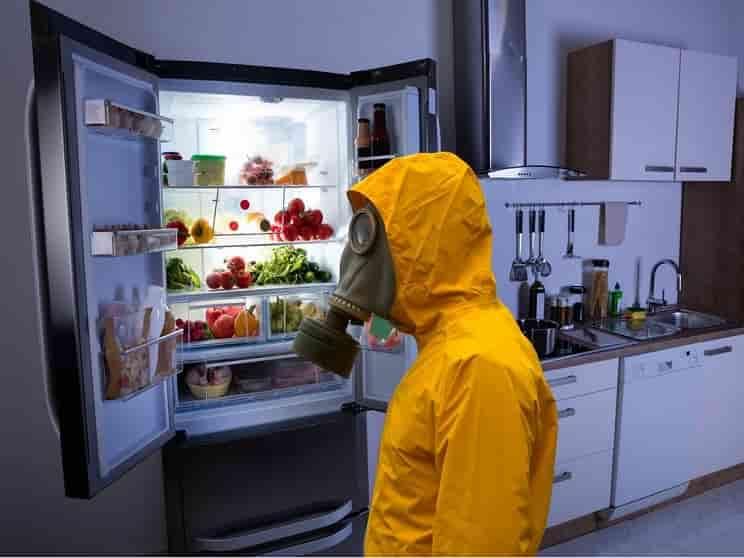 علت بوی بد یخچال فریزر