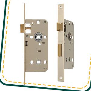 قفل درب سرویس بهداشتی (میلاک)
