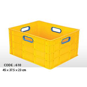 جعبه حمل پلاستیکی مدل 610 (الوند)