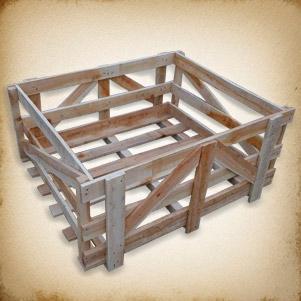 صندوق چوبی حمل بار (امیلا)