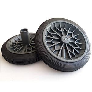 چرخ سطل زباله لاستیکی (ساوه پرس)