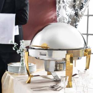 شفینگ دیش طلایی (ناب استیل)