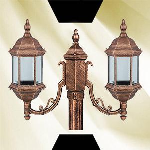 چراغ محوطه ای شش ضلعی (اسکار)