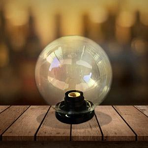 حباب چراغ شفاف (ایران تک)