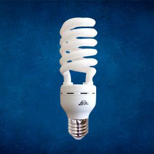 لامپ کم مصرف اسپیرال (طلعت نور)