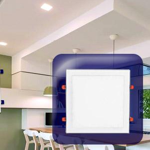 پنل led توکار مربع (یکتا افروز)